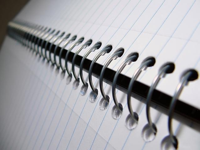 Notesy spiralowane
